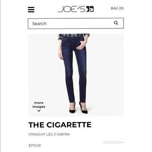 "NWT-Joes Jeans ""The Cigarette Straight Leg"""